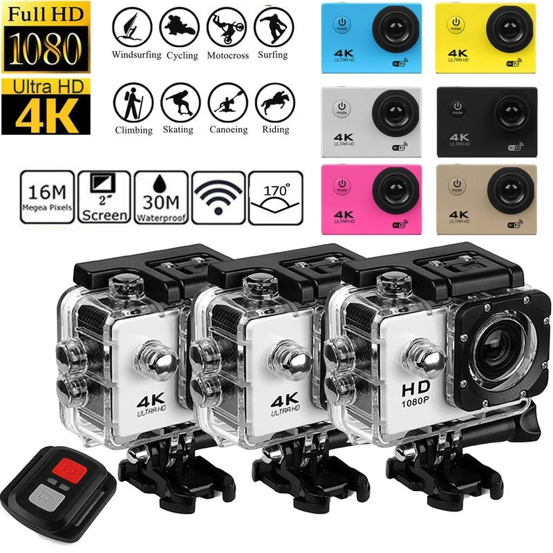 SJ9000 Ultra HD 4K Waterproof Sport Action Camera Camcorder DVR Diving  Swimming