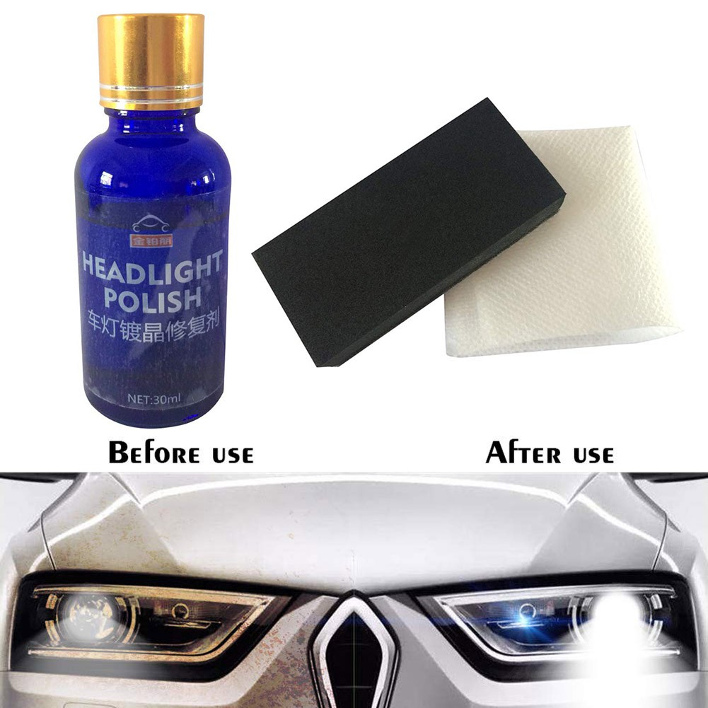 Car Headlights Oxidation Liquid Repair Agent Ceramic Coat Super Hydrophobic  Glas