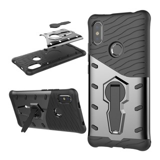 ... Xiaomi Redmi S2 Case Cover Hard Casing Shockproof Armor Shell 360 Rotation Stand. like: 3