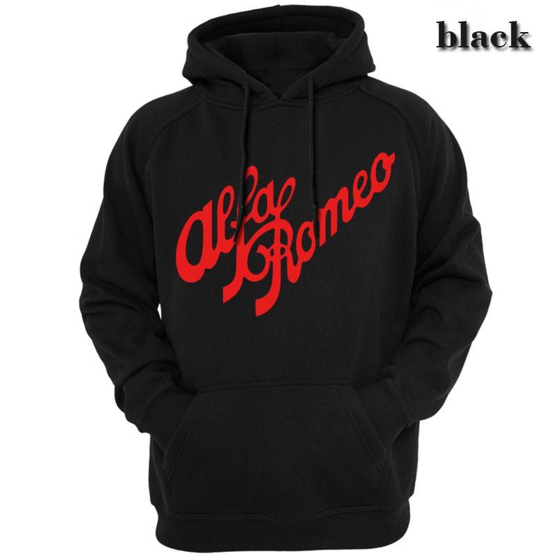Sweatshirt For Mens Womens Ladies Kids Unisex Hoodie Alfa Romeo Slim Fit TShirt Short Sleeves Shirt