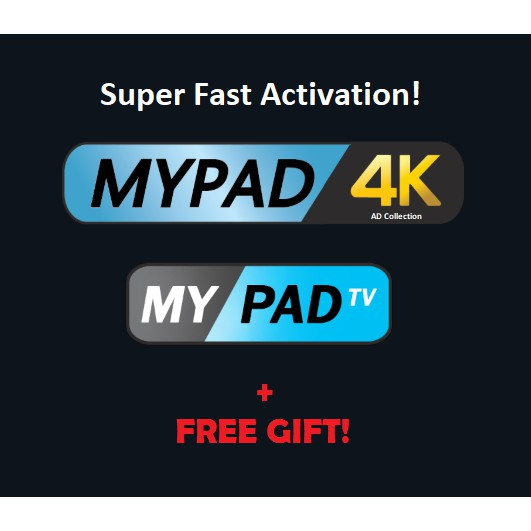 [Free Gift] MYPADTV / MYPAD4K Subscription (Promo!)