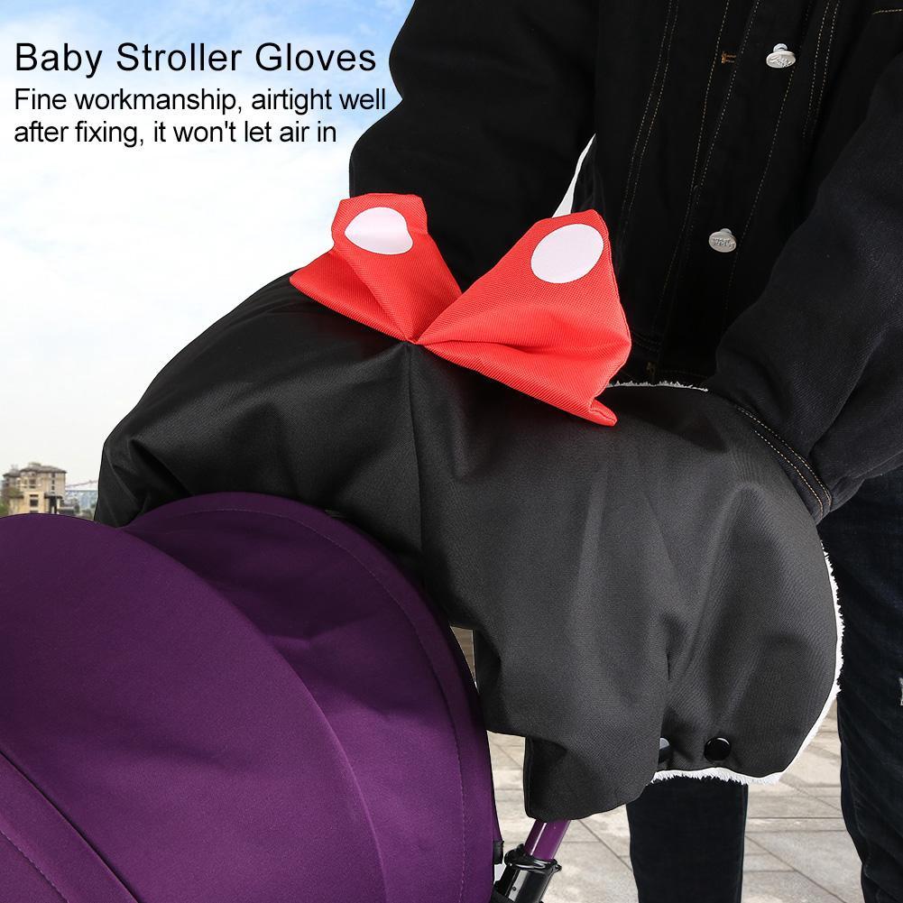 Adjustable Waterproof Warmer Gloves Baby Pushchair Accessory Stroller Hand Muff