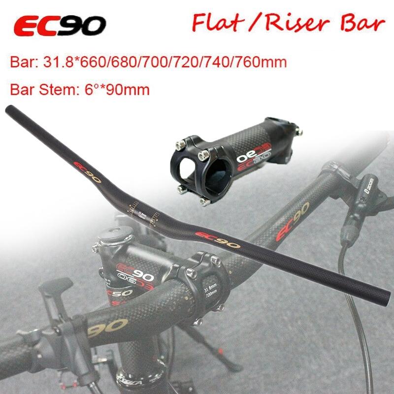 EC90 Carbon Road Bike Breaking Wind Handlebar Cycling Drop Bar31.8*400//420//440mm