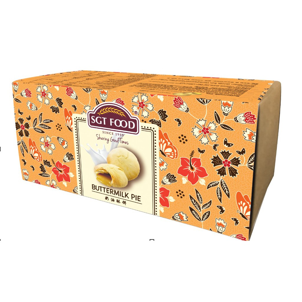 SGT Food Buttermilk Pie  (6pcs) 新源珍奶油酥饼