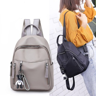 602a1173c208 Casual Oxford cloth backpack female Korean version of the wild ...