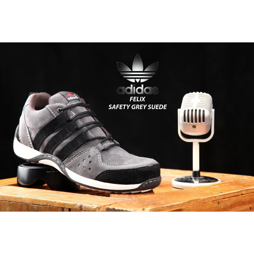 (ADIDAS FELIX) ADIDAS SAFETY SHOES LOW BOOTS MEN SHOES IRON SNEAKERS BIKERS COOL MEN'S SHOES
