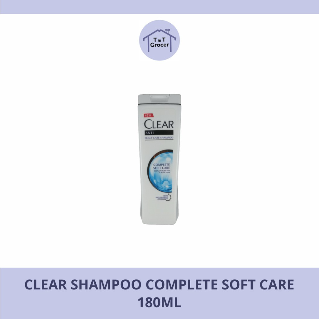 Clear Shampoo 180ml-330ml (Complete Soft Care/ Anti Hair Fall/ Extra Strength/ Super Fresh Apple)