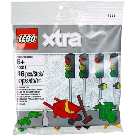 40312 New /& Sealed Polybag. LEGO Xtra Street Lamps