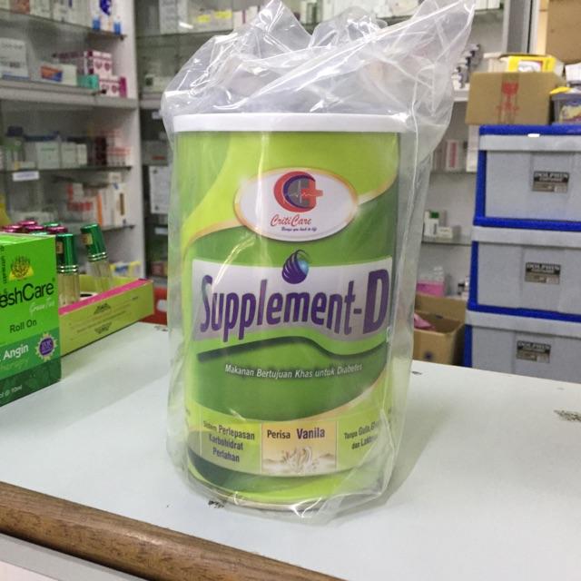 Supplement-D 400g Exp:12/2020
