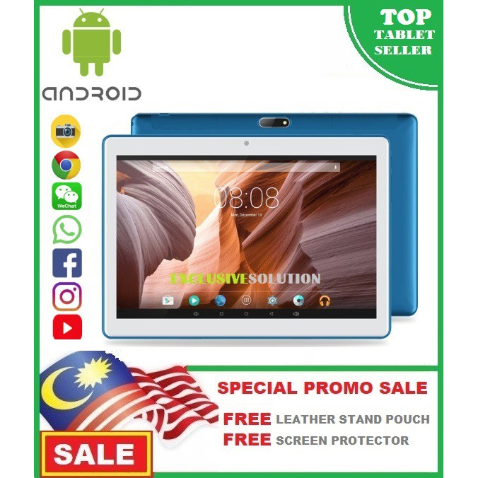 🎉🎉SHOCK DEAL🎉🎉 Android Tab 10 1'' 4G+32GB Tablet PC Octa Core HD WIFI 2  SIM