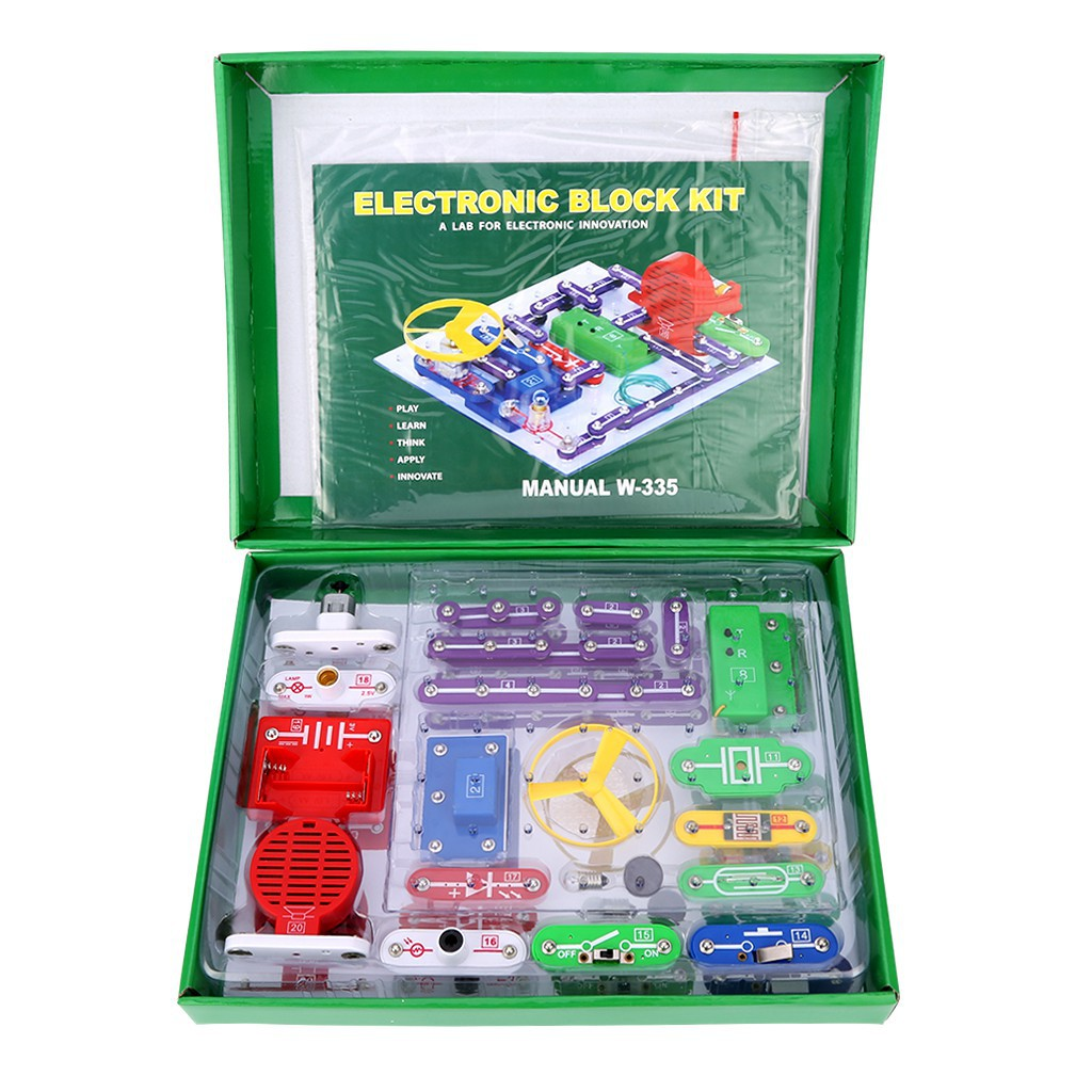 Us Imported Snap Circuits Jr Sc 100 Electronics Discovery Kit Game Learn About With Junior Shopee Malaysia