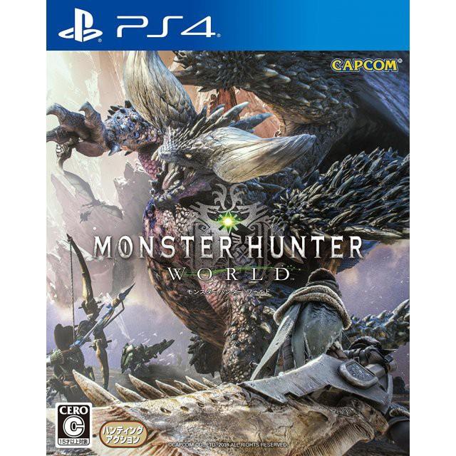 PS4 Monster Hunter World (R3/ENG/CHN)