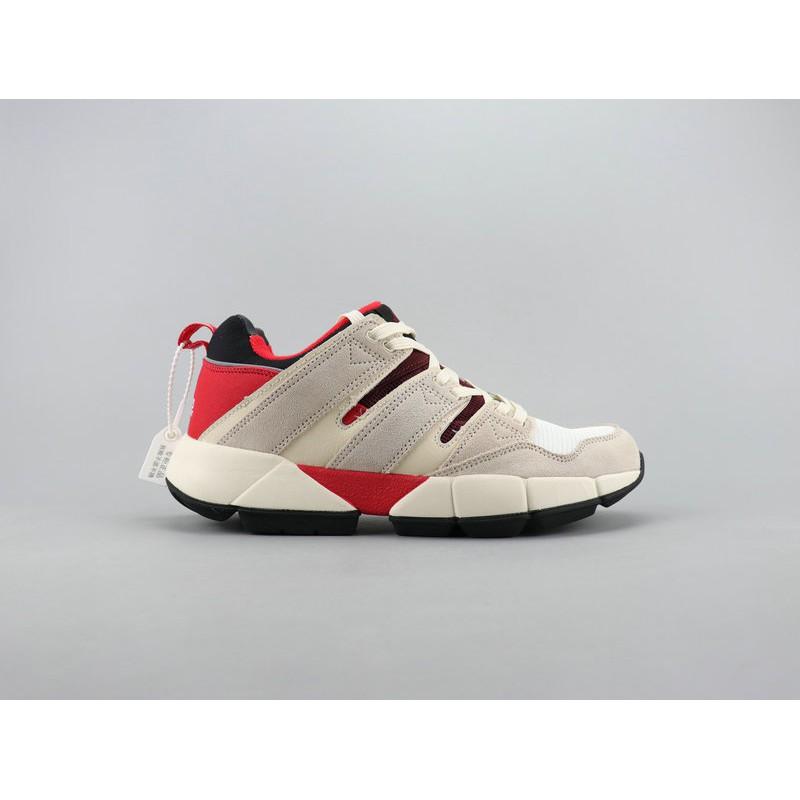 free shipping a9a38 842d9 Adidas Eqt Cushion 2 Pusha T Clover Retro Casual Running Shoes Pig Bago  Fabric Material Original Box Men Khaki red
