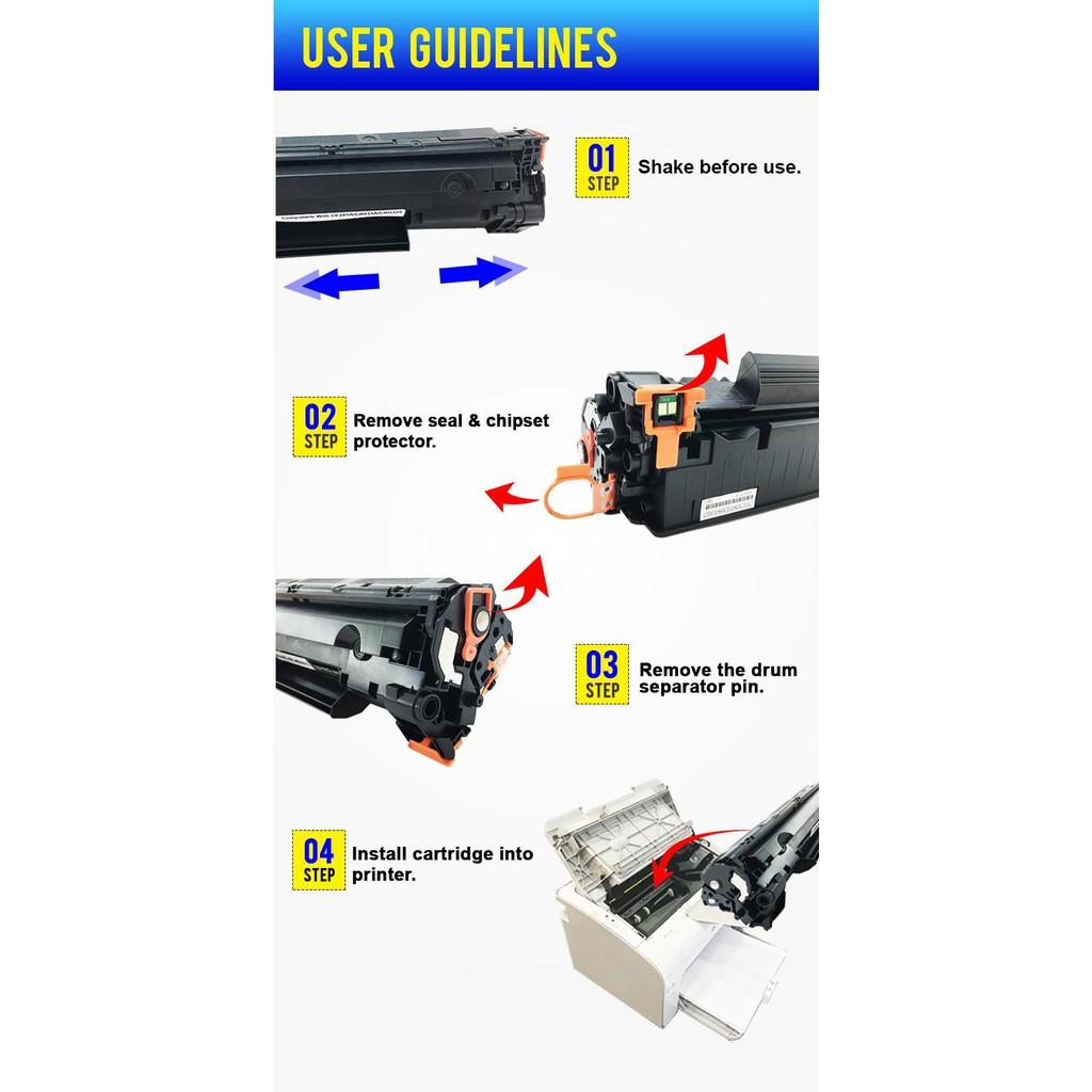 Compatible HP CF248A - 48A - Pro M15a / M15w / MFP M28a / M28w