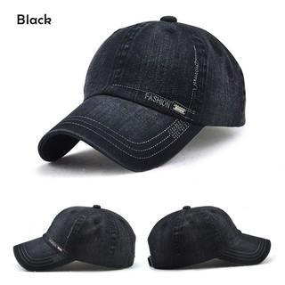 649878cb415 ... Caps Women Men Denim Baseball Cap Adjustable Blank Snapback Trucker Hat.  like  1