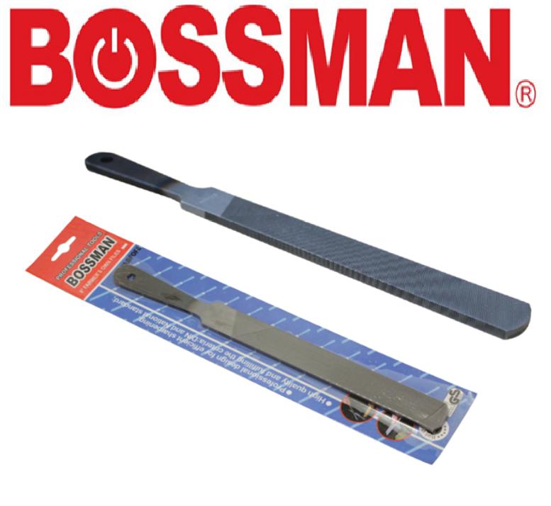 "BOSSMAN 8"" Homeowner file FARMER'S FILES  IRON KIKIR PERTANIAN BESI STRONG 平锉 BFOF8"