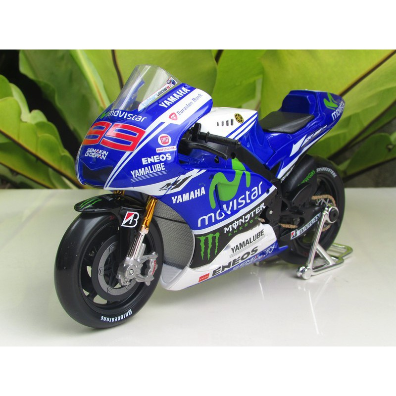 Yamaha Factory Racing YZR-M1 Moto GP 2014 Jorge Lorenzo Nr 99 1//18 Maisto Mode..