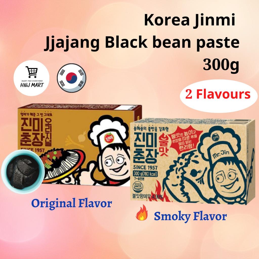 Korea Jinmi Jjajang Black Bean Paste 300g Jjajang Paste 正宗韩式炸酱面酱 300g (Original/ Smoky Flavor)