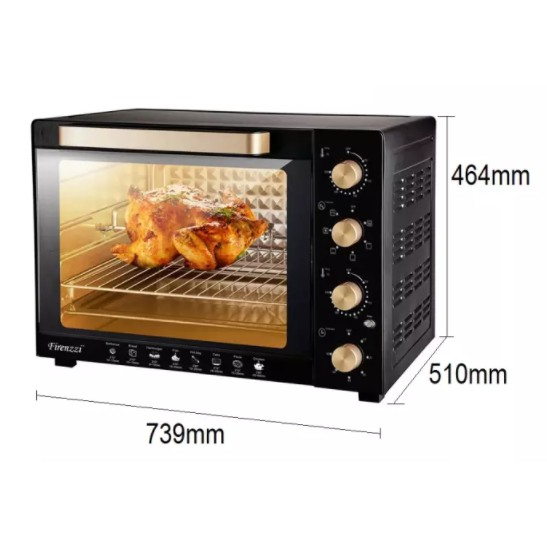Firenzzi TO-5110 Electric Oven 100L with Rotisserie Function