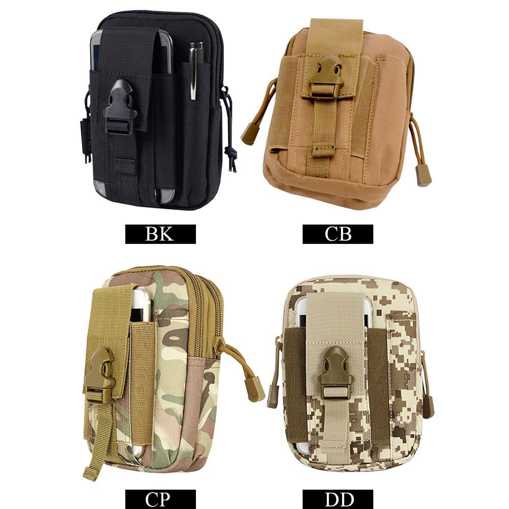 Men Nylon Waist Fanny Pack Betl Hip Bum Tactical Military Hiking Bag Purse DD