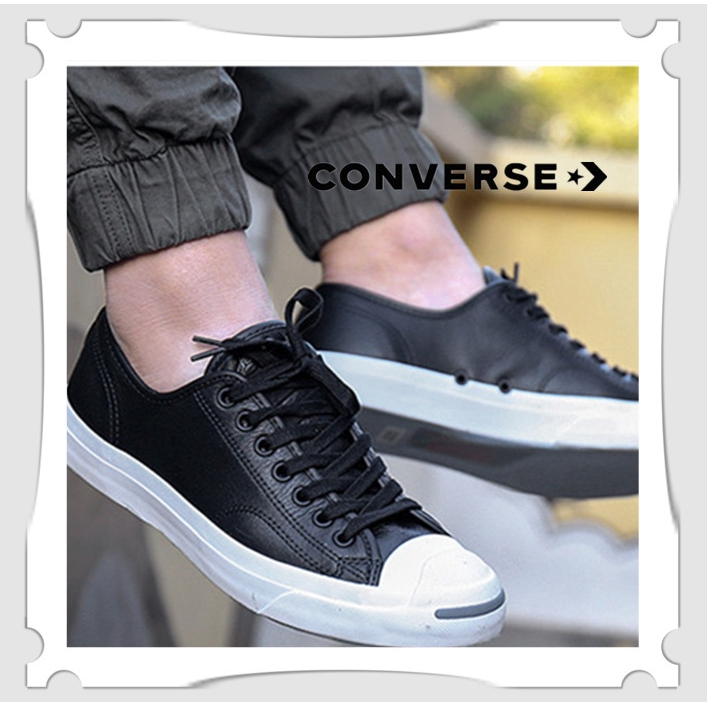sopa Asombrosamente Anotar  Ready Stock Hot Sale Converse Jack Purcell Leather Casual Men's Women's  Shoes Low Tops Couple Ori 100% 0riginal Canvas Breathable | Shopee Malaysia