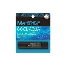 Mentholatum Men\'s Cool Aqua Lipbalm Extra Cooling SPF15 3.5g