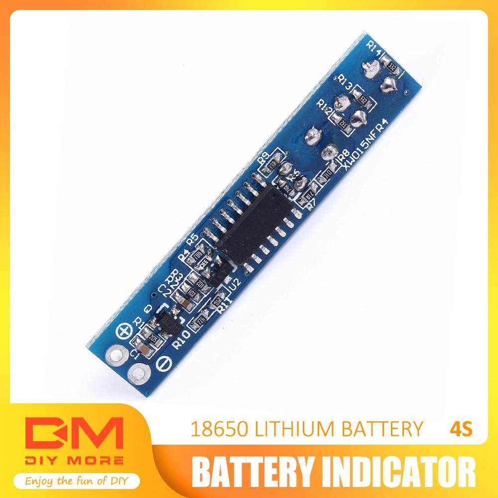 3S Lithium Battery Capacity Indicator LED Display Board Panel Power Tester