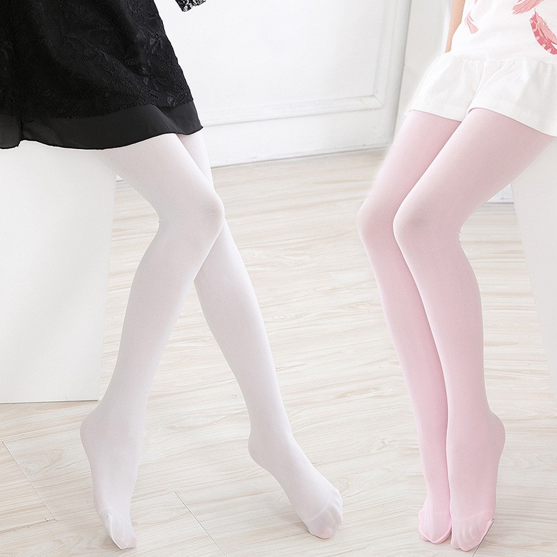 Fashion Kids Princess Pantyhose Children Students Dancing Socks Tights Colorful