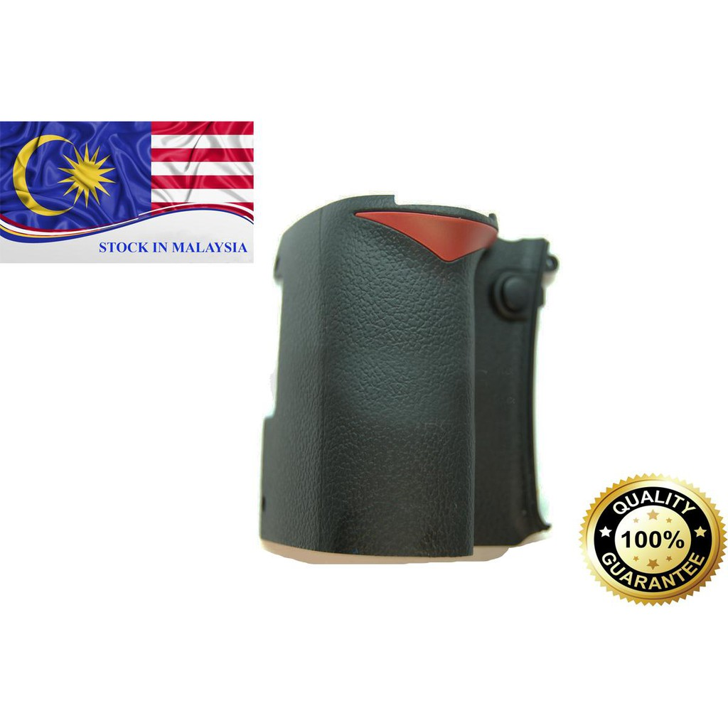 Front Hand Grip Rubber Unit Repair Part For Nikon D90 Camera (Ready Stock In Malaysia)