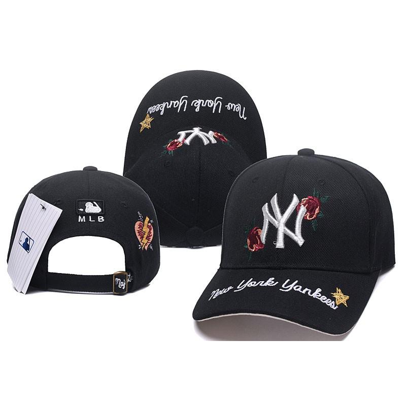 best sneakers 33c6b 054ed discount code for mlb korea version new york ny yankees men women baseball  cap w adjustable