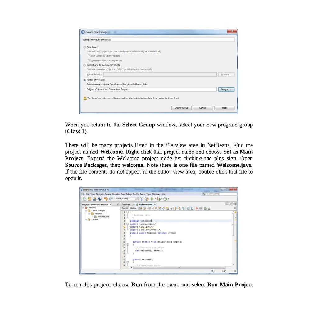 E-Book PDF] Java Homework Projects_ A NetBeans GUI Swing Programming  Tutorial | Shopee Malaysia