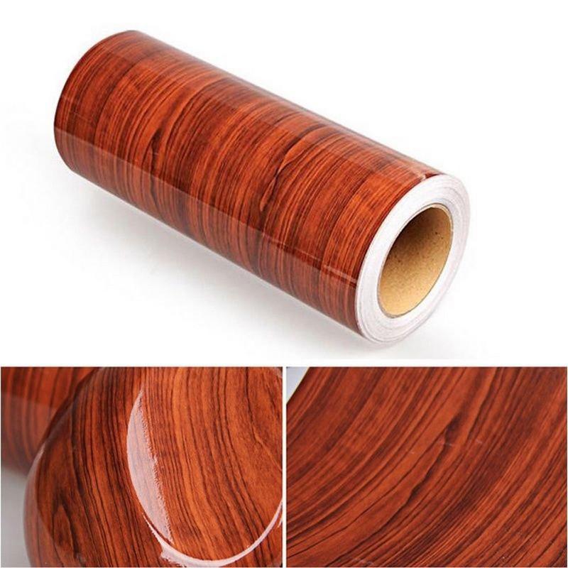 Car Interior Realistic Matte  Wood Texture waterproof Sticker Change Color Vinyl