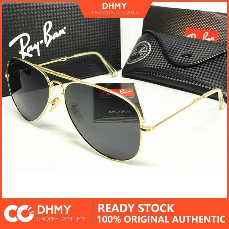 5403a6fcbd junji111 ready stock 2019 New Ray-Ban Rayban Sunglasses Aviator Glass