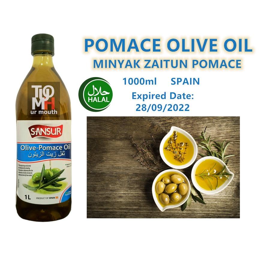 1 litre Minyak Zaitun Kekenyangan / POMACE OLIVE OIL 果渣橄榄油