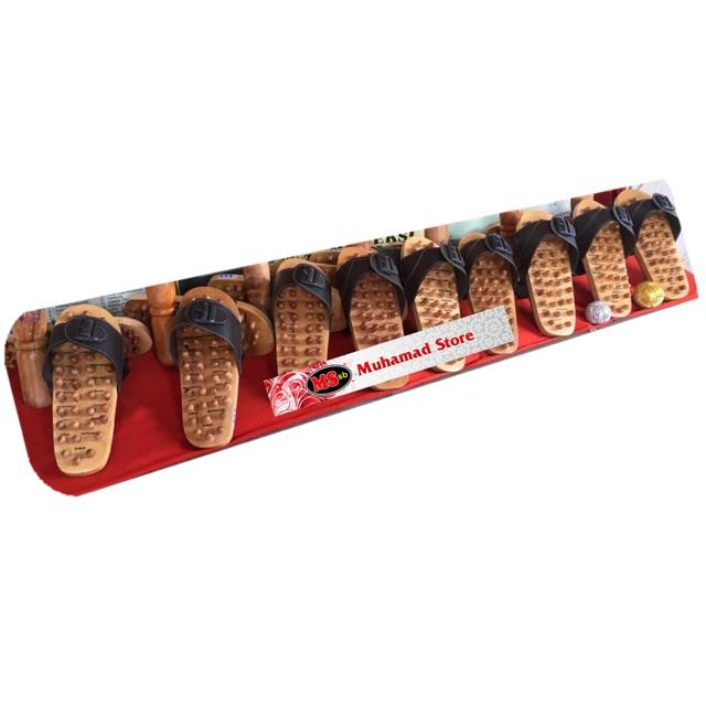 Wooden Reflexology Shoes