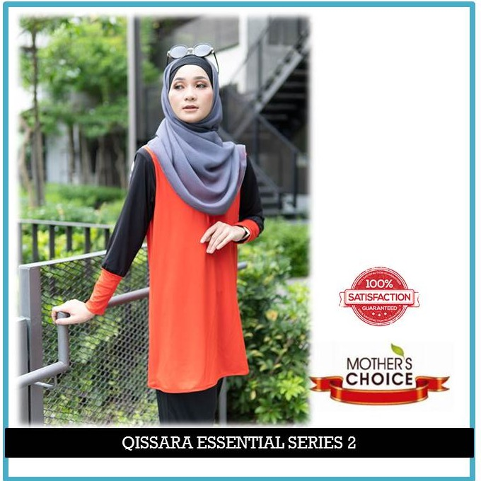 ES206 - QISSARA ESSENTIAL SERIES 2 MOMMY MATERNITY AND NURSING BLOUSE
