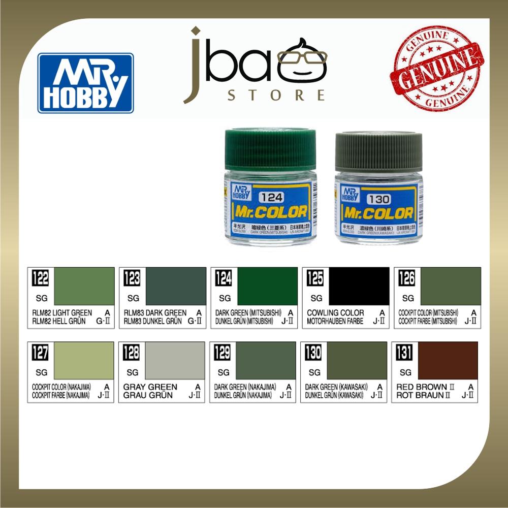 Mr. Hobby Mr.Color C122-C131 10ml Color Paint Air Brush Gundam Package Set