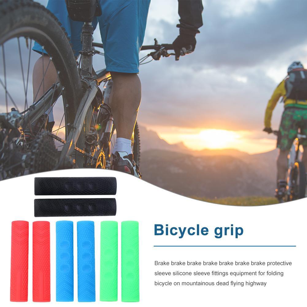Bicycle Grips Non Slip Handlebar Sleeves Soft Cycling Handle MTB Mountain Bike