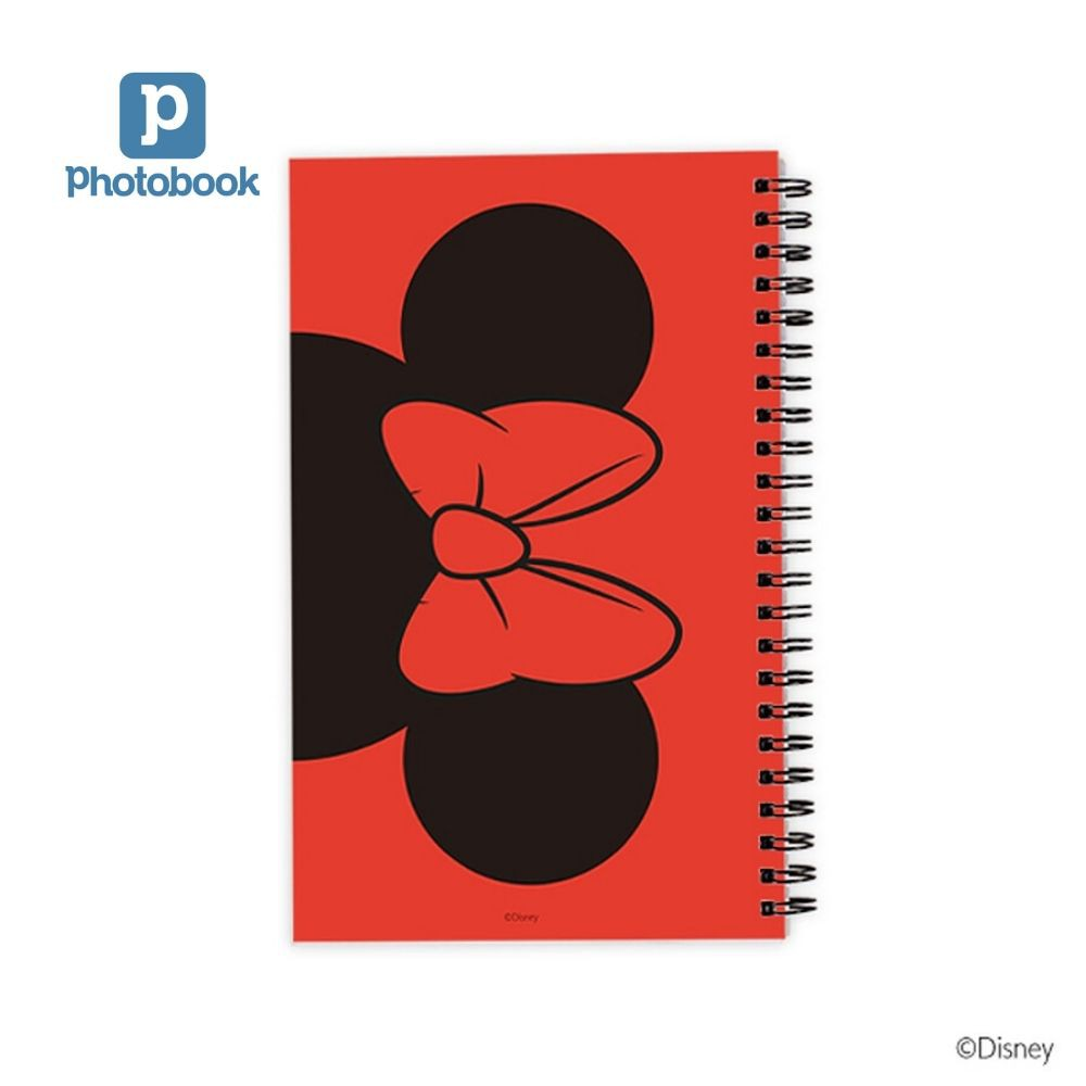 "Photobook Malaysia Disney Mickey Mouse Notebook (5"" x 8"")"