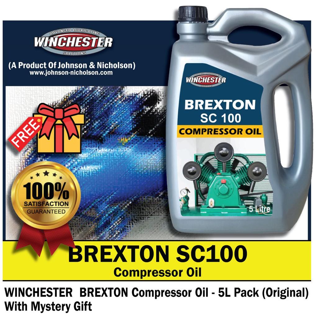 Winchester Brexton Air Compressor Oil SC100 (5L)