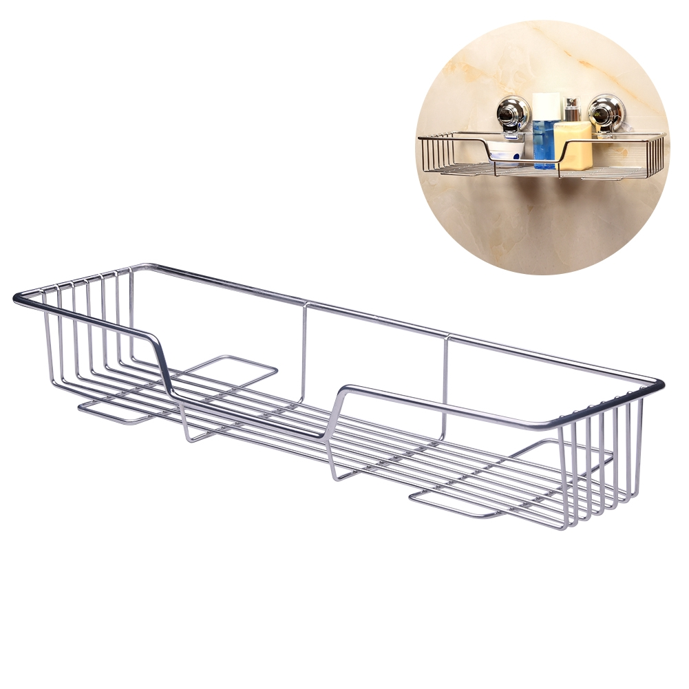 Brilliant Storage Basket Practical Bathroom Multifunctional Rack Holder Hanging Wall Mounted Stainless Steel Home Organizer Gmtry Best Dining Table And Chair Ideas Images Gmtryco
