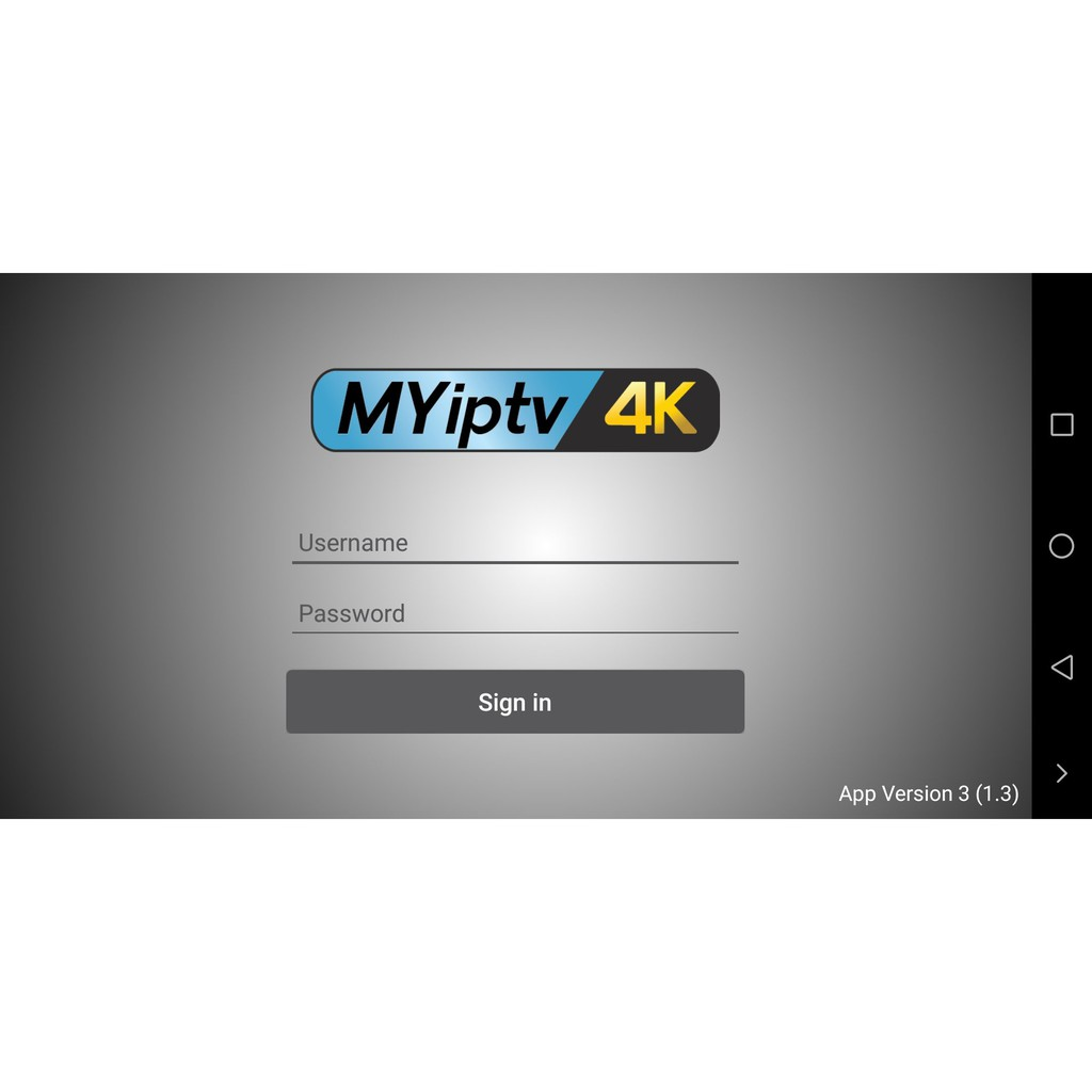 MYIPTV4K MYIPTV Subscription ! Pincode Ready Stock !! (Recommended)