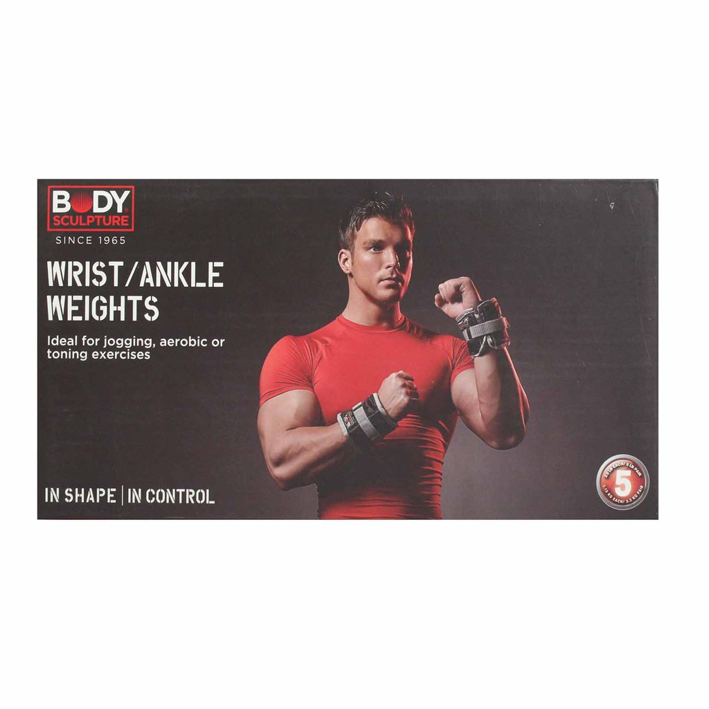 Body Sculpture Wrist/ Ankle Weights (2 x 1.15kg)