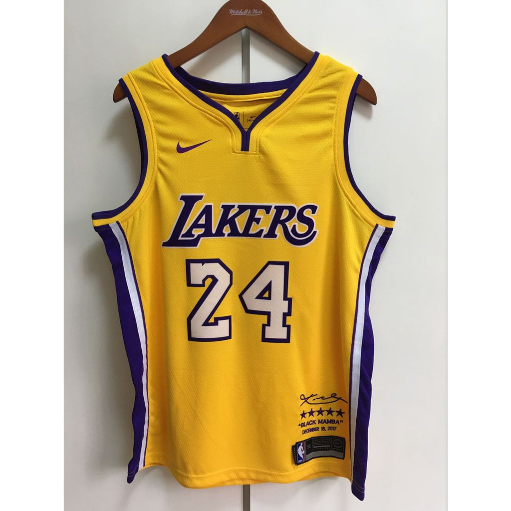 64b43c955 NBA Los Angeles Lakers City Jersey jersey Kobe Bryant