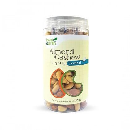 Love Earth Lightly Salted Almond Cashew乐儿天然盐焗 杏仁腰果 330公克