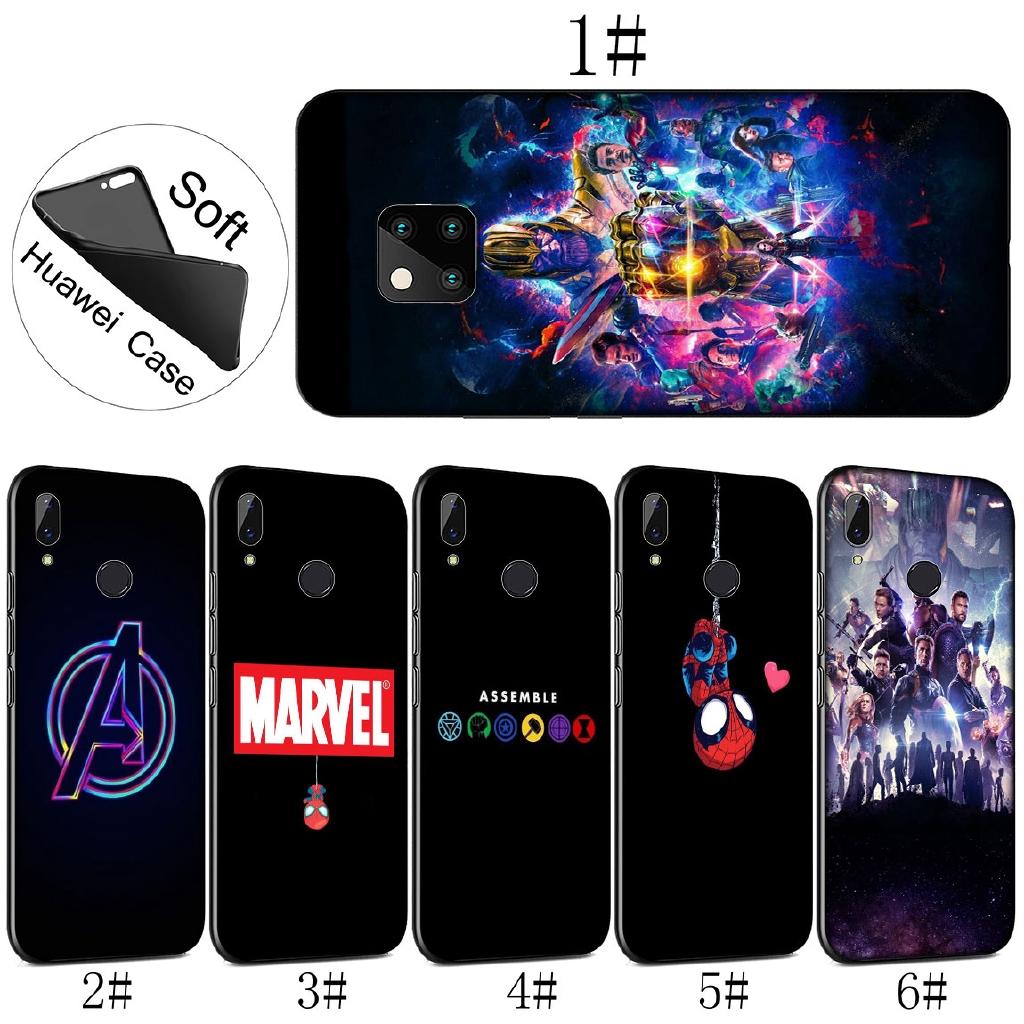 Huawei Mate 20 Pro Nova 2i 3 3i 4 Lite Soft Cover Avengers Endgame Marvel  Thanos Phone Case