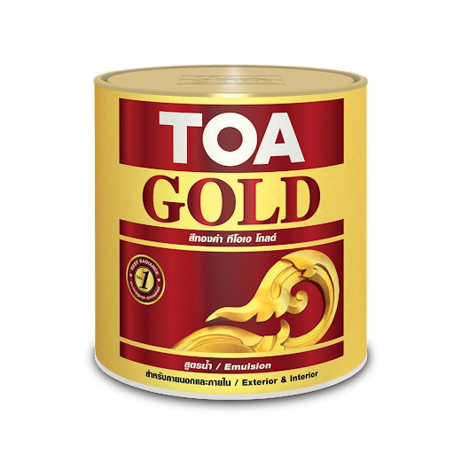 Toa GW919 Gold 285ml for wood and metal paint