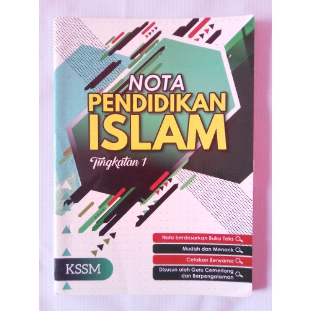 Nota Pendidikan Islam Tingkatan 1 2 3 Buku Pt3 Shopee Malaysia
