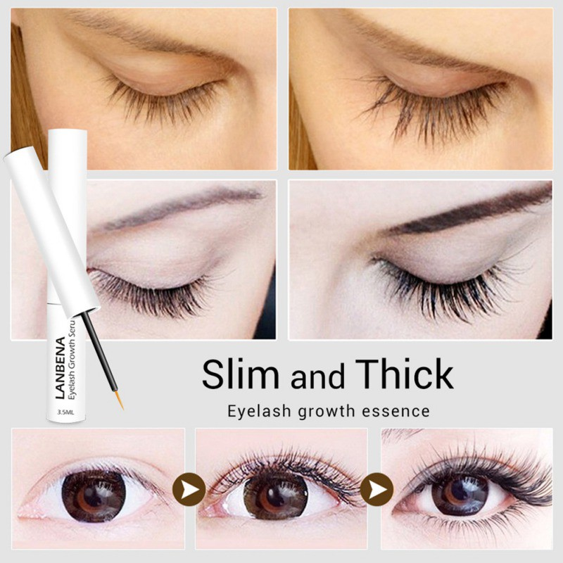 6408dd1d473 Eyelash Treatments Liquid Serum Eyelashes Enhancer Longer Thicker Growth  Essence | Shopee Malaysia