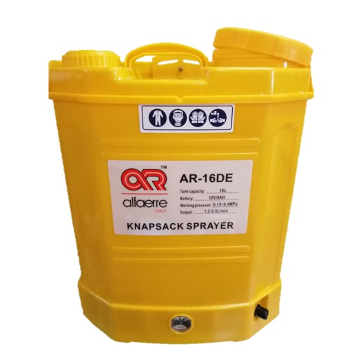 Description of AR CORDLESS ELECTRONIC KNAPSACK SPRAYER - AR16DE
